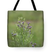 Lavender Purple Verbena Wildflowers  Tote Bag