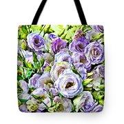 Lavender Ranunculus  Tote Bag