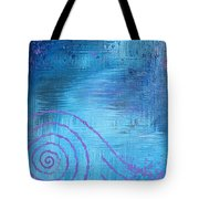 Lavender Spiral  Tote Bag