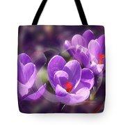 Lavender Spring Tote Bag
