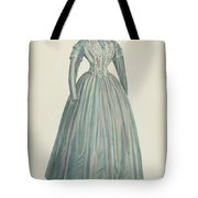 Lavender Taffeta Dress Tote Bag
