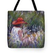 Lavender Treasure Tote Bag
