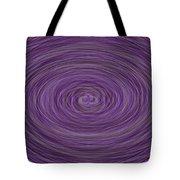 Lavender Vortex Tote Bag