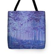 Lavender Woods Tote Bag