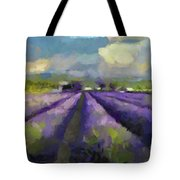 Lavenders Of South Tote Bag
