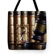 Law And Justice  Tote Bag