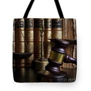 Law And Order Tote Bag