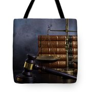 Law And Justice II Tote Bag