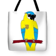 Law Macaw - Yellow Tote Bag