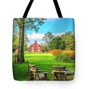 Adirondack Chair Viewing Tote Bag by Richard J Thompson