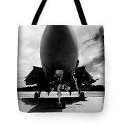 Lawn Dart F 14 Tomcat Tote Bag
