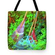 Lawn Tools Tote Bag