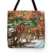 Lawson Avenue Flamboyants Tote Bag