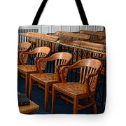 Lawyer - The Courtroom Tote Bag by Paul Ward