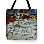 Lawyer - The Tax Attorney Tote Bag
