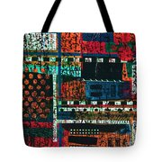 Lay It Between The Lines  Tote Bag