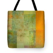 Layer Study - Turquoise Tote Bag