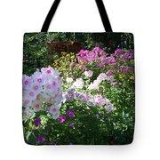 Layered Florals Tote Bag