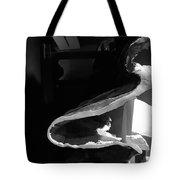 Layered Rock B W  Tote Bag
