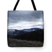Layered Serenity Tote Bag