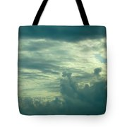 Layers Of Clouds Tote Bag