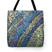 Layers Of Our Lives Tote Bag