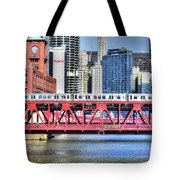 Layers On The River Tote Bag