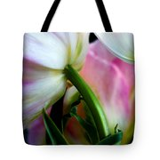 Layers Of Tulips Tote Bag by Marilyn Hunt