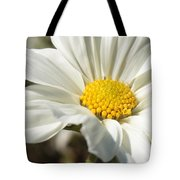 Layers Of White Cosmos Tote Bag