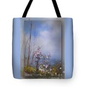 Layers Of Wildflowers Tote Bag