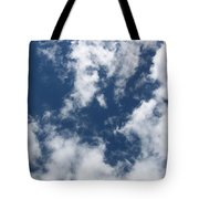 Laying Around Looking Up Tote Bag