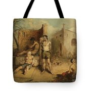 Lazar House In The Tropics Tote Bag