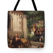 Lazarus And The Rich Man 1865 Tote Bag