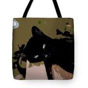 Lazy Cat Tote Bag
