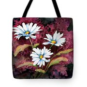 Lazy Daisies Tote Bag