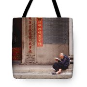 Lazy Day In Hong Kong Tote Bag