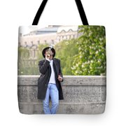 Lazy Day In Paris Tote Bag