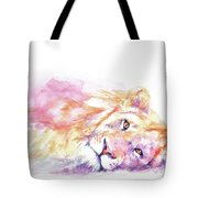 Lazy Days - Lion Tote Bag