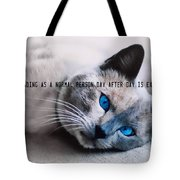 Lazy Summer Quote Tote Bag