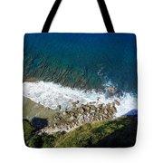 Lazy Waves Tote Bag
