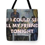 Lcd Soundsystem Lyrics Print Tote Bag