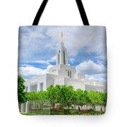 Lds Draper Temple Tote Bag