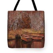 Le Barche Sullo Stagno Tote Bag
