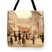 Le Boulevard St Denis - Paris Tote Bag