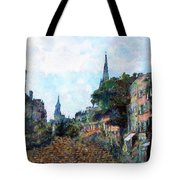 Le Boulevard Vide Tote Bag