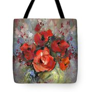 Le Bouquet De Valentine Tote Bag