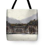 Le Chateau De Versailles Tote Bag