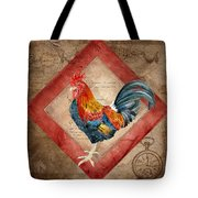Le Coq - Timeless Rooster  Tote Bag