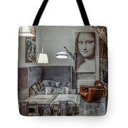 Lunch With A Smile Tote Bag