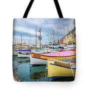 Le Fortune At Nice Harbor, France Tote Bag